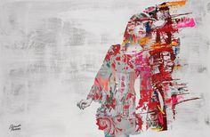 """Saatchi Online Artist: Hossam Hassan; Painting, 2012, Digital """"Gone With the Wind"""""""