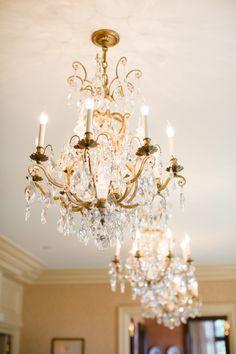 crystal chandelier 18 arms Ø75cm brass: Amazon.co.uk: Lighting ...