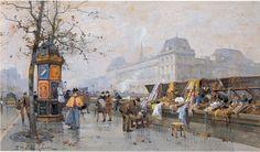 Eugene Galien-Laloue | Paris painting | Tutt'Art@ | Pittura * Scultura * Poesia * Musica |