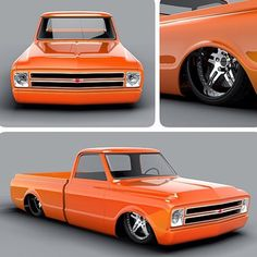 Hot Wheels - Damn @digitalc10 is killing it with these renderings , big fan of this paint scheme! #chevrolet #gmc #c10 #AirSuspension #bagged #layframe #raked #stance #streetrod #streetmachine #hotrod #lowfastfamous