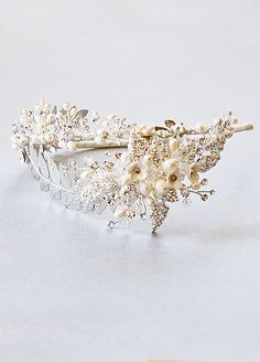 Crystal Headpiece - Aphrodite - Best Selling! Available in silver or gold.