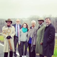 Today #CCAC cut the ribbon on South Campus Way a new road into CCAC South Campus! Pictured L to R: Maury Burgwin President of the Mon Yough Area Chamber of Commerce; J. B. Messer Chief Facilities Officer at CCAC; Erin Ruggles CCAC South Student Council President; Charlene Newkirk President of CCAC South Campus; Dr. Quintin Bullock CCAC President; and Dr. Stuart Blacklaw CCAC Provost.