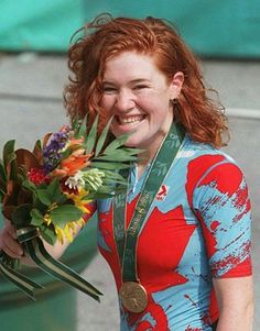 The great Clara Hughes! Olympic Medal winner in both the Summer and Winter Olympics. Photo from Canadian Press Clara Hughes, Olympic Medals, Ice Dance, True North, Beavers, Winter Olympics, Celebs, Celebrities, Olympians