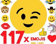 SVG Cut Files for Cameo, Cricut, Silhouette.Craft it! by BigDesignCo Emoji Svg, Big Design, Etsy App, Disney Family, Family Shirts, Svg Cuts, Cutting Files, Cricut, Etsy Seller