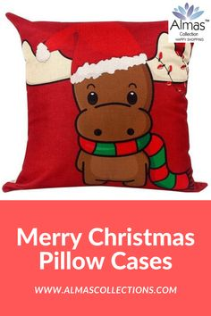ONLY $14.99 + FREE SHIPPING  Are you looking for the perfect Christmas decor then you really need these amazingSanta Claus, Reindeer and Xmas pillowcases. It is the perfect decor to make your home feel like Christmas. With 44 amazing pillowcase designs to choose from.  The perfect gift this season. 44 amazing pillowcase designs to choose from. Buy 4 save $20 use promo code: XMAS4  #merrychristmas #homedecor #usa #uk #canada #europe #beligum #switerland #german #christmascushions… Best Christmas Toys, Christmas Gifts For Husband, Kids Christmas, Christmas Decor, Merry Christmas, Christmas Ornaments, Christmas Cushions, Christmas Pillow, Toy Kitchen Set