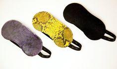Chic Python Sleep Masks