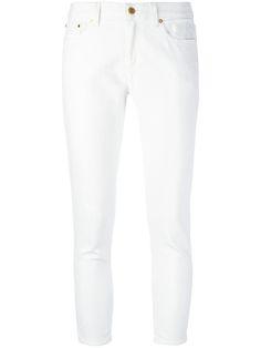 MICHAEL MICHAEL KORS Cropped Jeans. #michaelmichaelkors #cloth #jeans