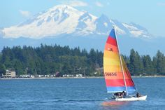 Birch Bay, WA : Kids Sailing at Birch Bay