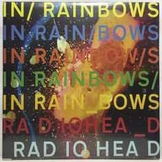 Radiohead In Rainbows 180g LP Vinyl Record New Sealed #ExperimentalRock