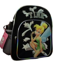 Amazon.com: Tinkerbell Mini Backpack with Water Bottle: Clothing