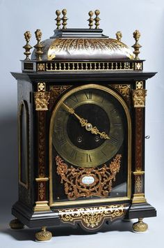 Fantastic Antique Danish Boulle Marquetry Clock Gilt Bronze Faux Shell C 1860 | eBay