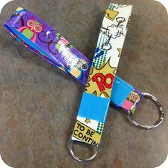 Crafternoons {Duck Tape Key Ring DIY}