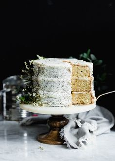 Lemon Poppyseed Cake - Broma Bakery