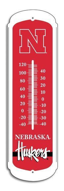 "Nebraska Cornhuskers Outdoor Thermometer - 27"""""