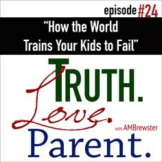 Satan wants to destroy your children, and he often uses entertainment brimming with Failure Philosophies to do it. Join the discussion as AMBrewster unpacks just one song in order to help us see and answer the lies our children will encounter.  Click here for Episode 24 Notes: http://wp.me/p8IpS-JY  T.L.P. Facebook: https://www.facebook.com/TruthLoveParent/?utm_content=buffer5dfd9&utm_medium=social&utm_source…