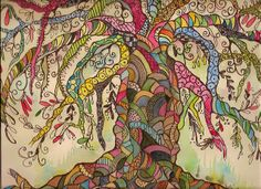 Tree in color