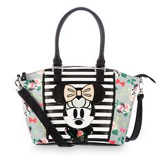 Minnie Mouse Floral Crossbody Bag by Loungefly