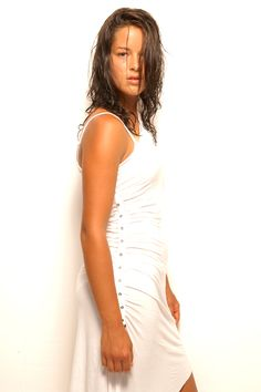 Ana Ivanovic Professional Tennis Players, Ana Ivanovic, Tennis Stars, Bellisima, White Dress, Celebrities, Beauty, Dresses, Fashion
