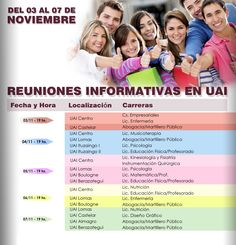 Universidad Abierta Interamericana - #UAI  Hacé tu consulta a un representante de UAI y obtené mayor información, ingresando en el siguiente link: http://quevasaestudiar.com/estudiar-en-Universidad-Abierta-Interamericana-16  #carreras #estudiar #universidad #noviembre