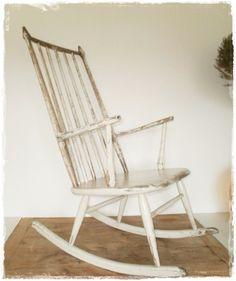 Alter dänischer Schaukelstuhl! - Möbelstücke von vintagecompagnie - Stühle - Möbel - DaWanda
