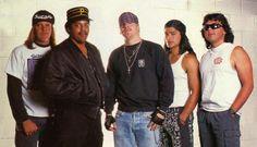 Suicidal Tendencies From L-R: Mike Clark,Rocky George, Mike Muir, Robert Trujillo & R.J. Herrera