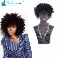 Find More Human Wigs Information about brazilian virgin hair kinky curly full…