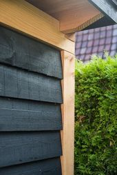 Even though early in thought, your pergola has been suffering from a bit of a House Cladding, Exterior Cladding, Facade House, Shed Design, Garden Design, House Design, Garden Buildings, Backyard Patio, Architecture Details