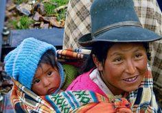 Babywearing in Peru
