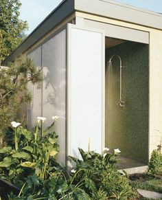 Indoor/ outdoor shower