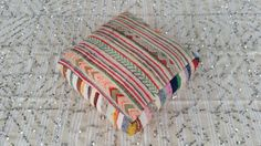 Moroccan Vintage Floor Cushions / Made From Hand by MoroccanTribal
