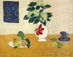 Henri Matisse / Still Life Of Ivy And Flower