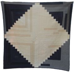 Diamond Cabin Quilt... great for a wall hanging, maybe with text prints?