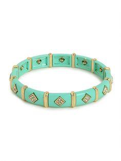 our mint marrakech bangle - love the details!