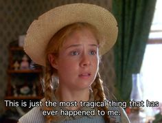 Anne Shirley <3 gah! haven't seen this movie in ages but can repeat it almost line for line!