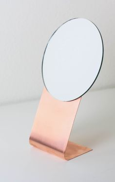 DIY Copper Mirror by