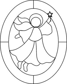 stain glass christmas patterns | ... stained glass pattern free ...