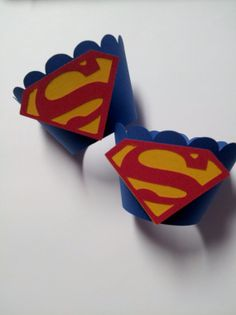 Superman Cupcake Wrappers