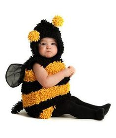 You're never too young (or too old!) to dress up for Halloween, as these infant costumes prove.