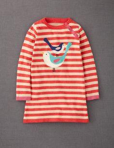 Stripy Logo Dress