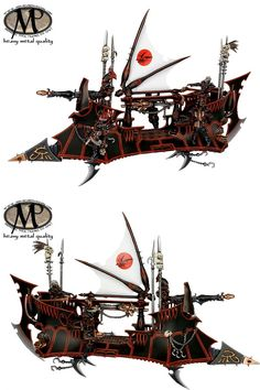 Dark Eldar Raider @ heavy metal quality