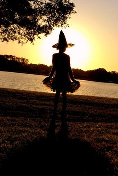 witchy sunset