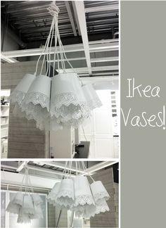 A DIY lamp - Home Shabby Home | Arredamento, interior, craft
