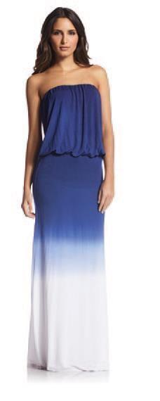 Elan Maxi Dress Size M Medium Swimsuit Coverup 2013 Ombre Tie Dye Cruisewear | eBay
