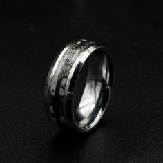 Meteorite Ring, Rings For Men, Clothes, Etsy, Jewelry, Outfits, Men Rings, Clothing, Jewlery