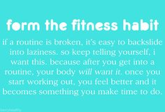 this is a fact. For I was lazy and now I look forward to my hour and 30min in the gym everyday...