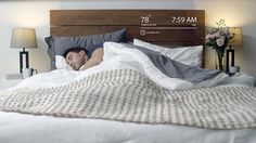 Luna - Make your bed smart, instantly. The first mattress cover that can warm your bed, automatically track sleep and intelligently wake you up. Smart Bed, Smart Home, Mattress Pad, Mattress Covers, Mattress Protector, Bedroom Gadgets, Nintendo, Thing 1, Make Your Bed