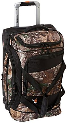 Carry-on Luggage Collections | Pathfinder Gear Realtree 22 Inch Rolling Drop Bottom Duffel Camo One Size -- Visit the image link more details. Note:It is Affiliate Link to Amazon.