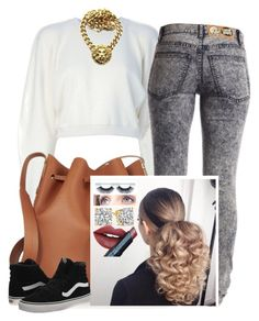 """""""✨"""" by newtrillvibes ❤ liked on Polyvore featuring MARIOS, Cheap Monday, Sophie Hulme, Vans, Fiebiger, women's clothing, women, female, woman and misses"""