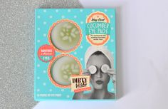London Beauty Queen: Dirty Works Soothing Cucumber Eye Pads: The Answer To Tired Eyes And A Long Day?