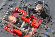 US Navy Search and Rescue (SAR) swimmers ...training never stops